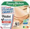 Blanc de Poulet Filière Française d'Eleveurs Engagés - 4 tr. - Product