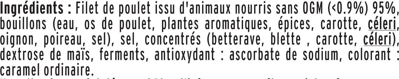 Blanc de Poulet - FILIERE FRANCAISE D'ELEVEURS ENGAGES - Ingredienti - fr
