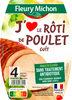 Rôti de poulet J'AIME - 4 tranches - Product