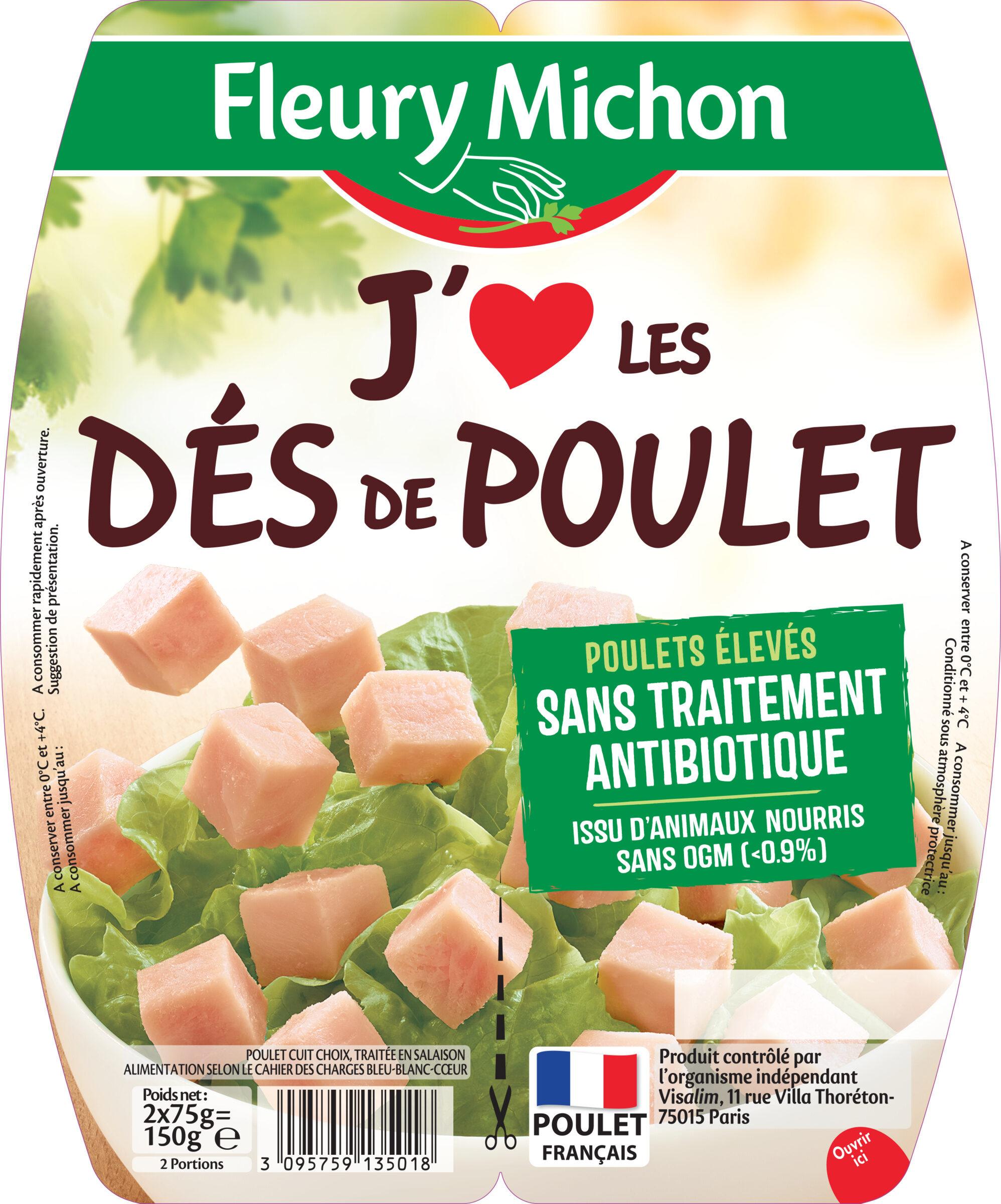 """Dés de poulet """"J'aime"""" - Product - fr"""
