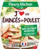 """Emincés de poulet """"J'Aime"""" - Produit"""