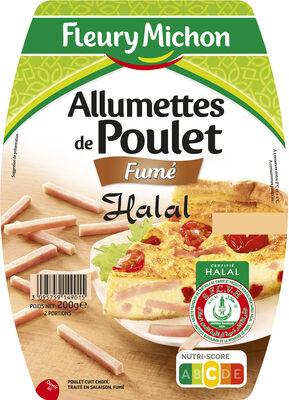 Allumettes de Poulet - Fumé - Halal - Produit - fr