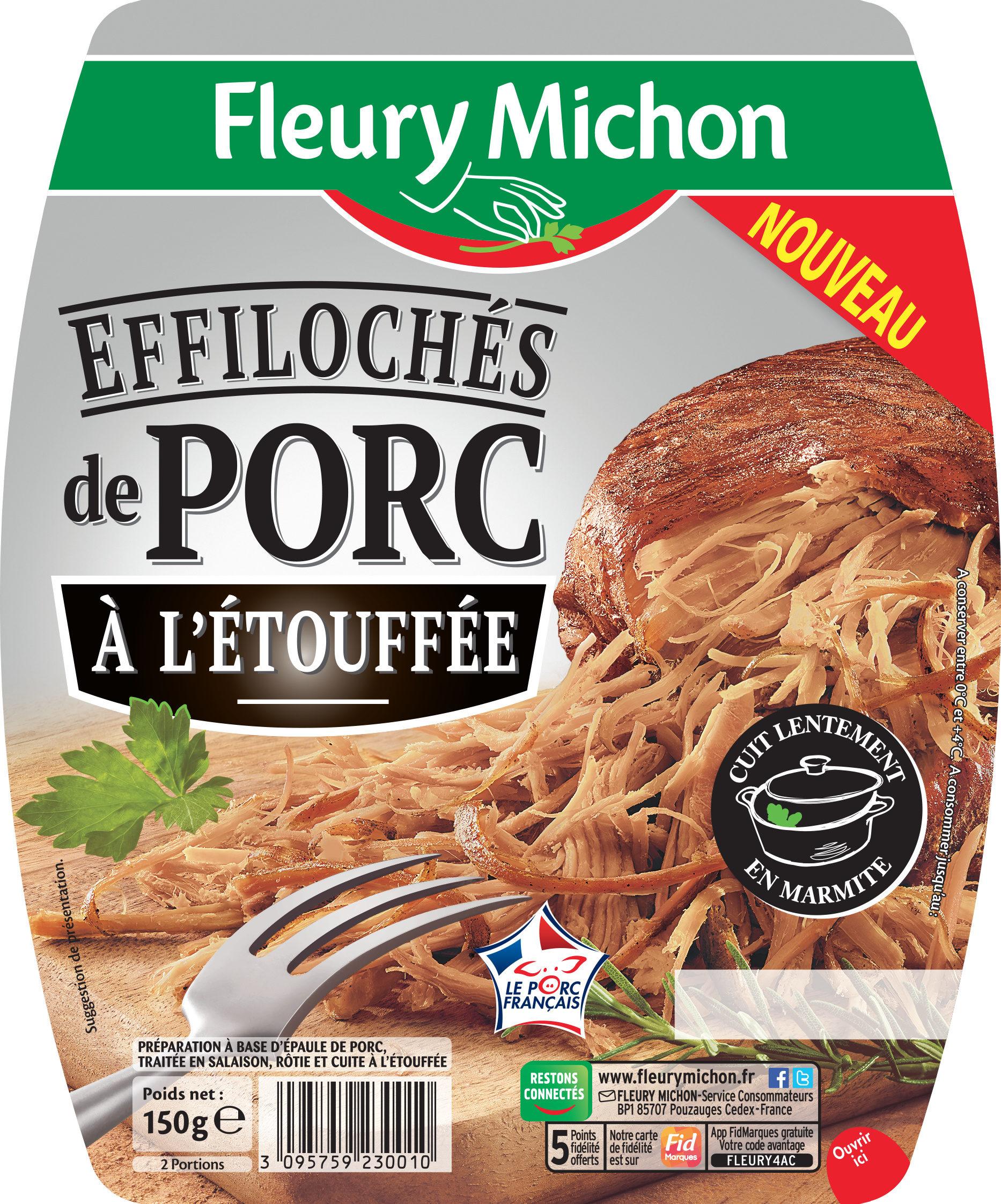 Effilochés de porc à l'étouffée - Product