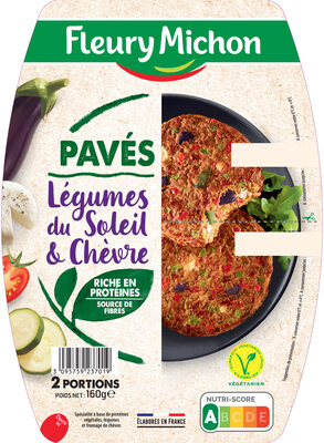 Pavés  Légumes du Soleil et  Chêvre - Produit - fr