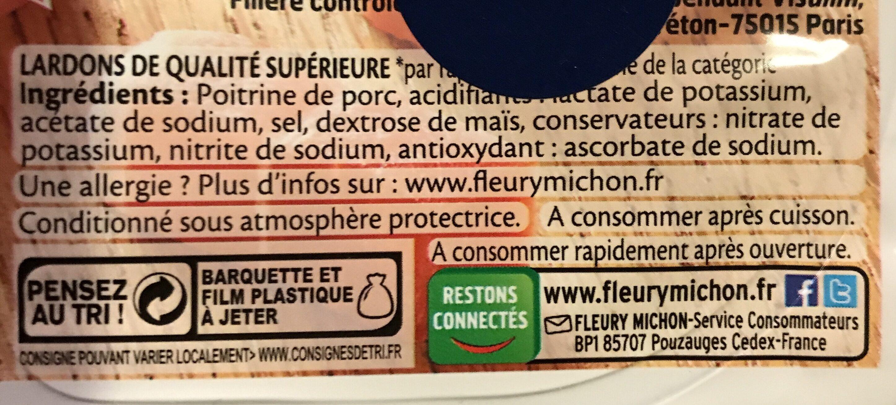 Allumettes - Nature -25% de sel* - FILIERE FRANCAISE D'ELEVEURS ENGAGES - Ingrediënten - fr