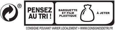 Jambon Supérieur sans couenne Bio - 4 tranches fines - Istruzioni per il riciclaggio e/o informazioni sull'imballaggio - fr
