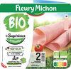 Jambon Supérieur sans couenne Bio - 2 tranches - Producto