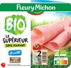 Jambon Supérieur sans couenne Bio, -25% de sel* - 2 tranches - Product