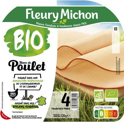 Blanc de poulet BIO - 4 tranches - Prodotto - fr