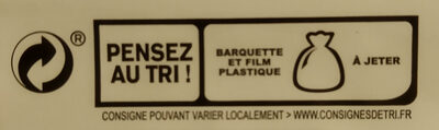Blanc de poulet BIO - 4 tranches - Instruction de recyclage et/ou informations d'emballage - fr
