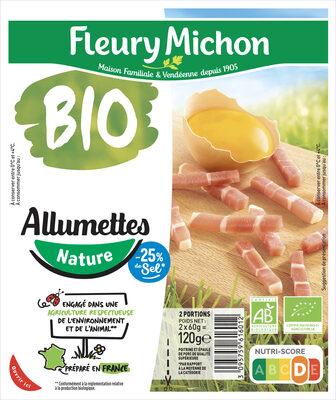 Allumettes  - Nature - 25 % de sel* - BIO - Product - fr