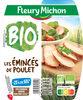 Emincés de poulet  Bio- 25% de sel* - Produit