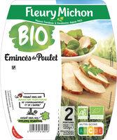 Emincés de poulet - 25% de sel* - BIO - Produit - fr