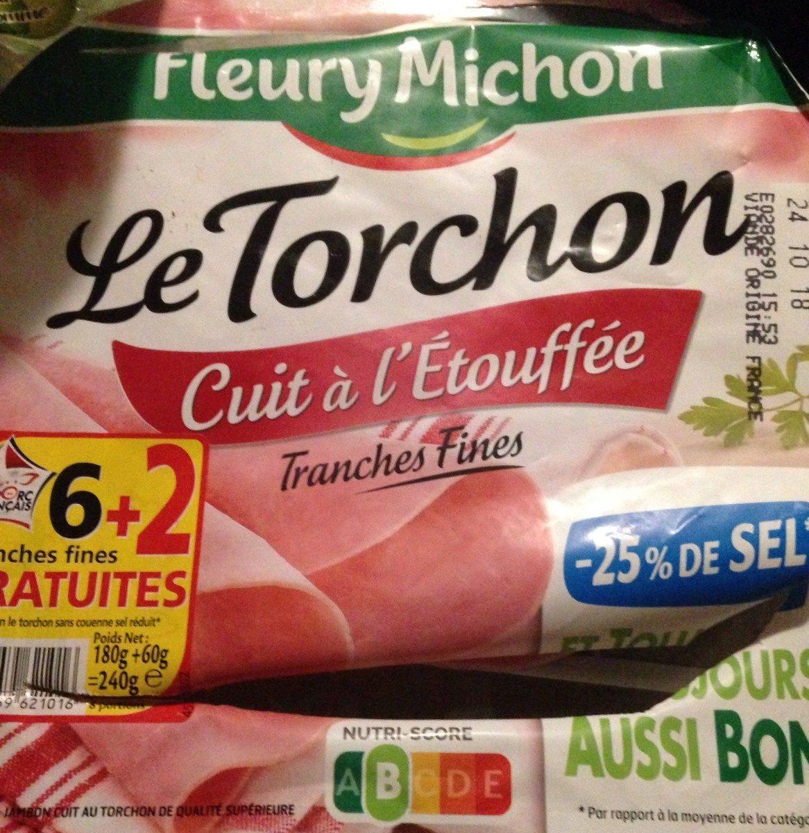 Le torchon, cuit à l'etouffee, -25% de sel - Product