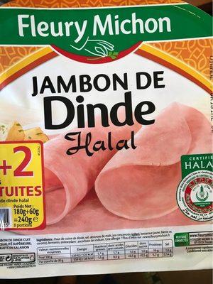 Jambon de dinde halal - Produit - fr
