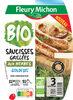 Saucisse grillée aux herbes BIO -25% de sel* - Produit