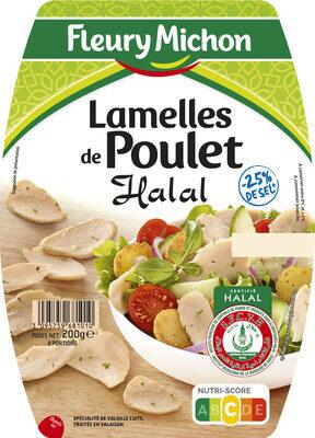 Lamelles de poulet Halal -25% de sel - Product