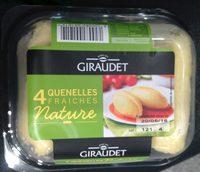 4 Quenelles Fraîches Nature - Produit - fr