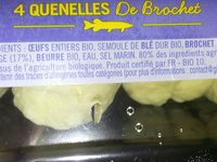 4 Quenelles Fraîches De Brochet sauvage - Ingredients - fr