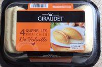 4 Quenelles Fraîches de Volaille - Produit