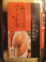 4 Quenelles Fraîches de Volaille - Informations nutritionnelles