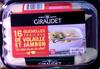 16 quenelles fraîches de volaille et jambon - Produit