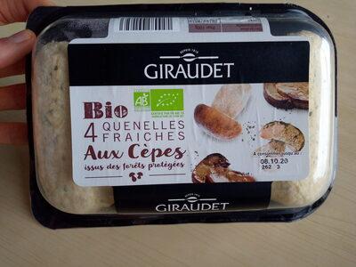 Quenelles fraiches aux cèpes Bio - Product - fr