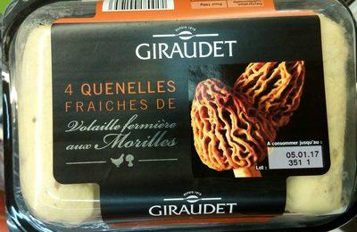 4 quenelles fraîches de volaille fermière aux morilles - Product - fr