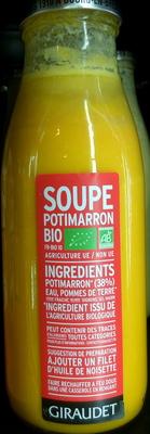 Soupe potimarron bio - Produkt - fr