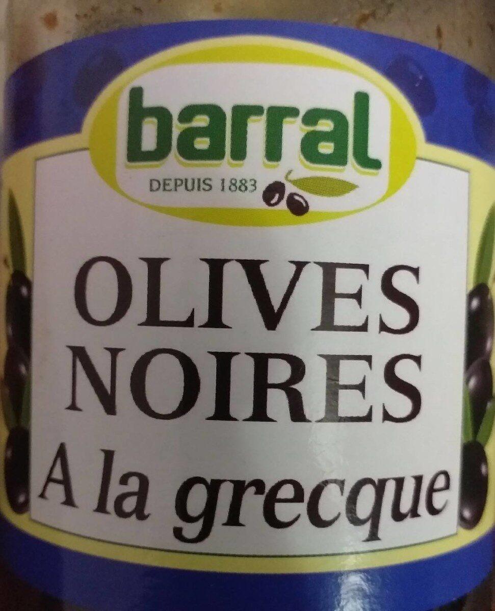 Olives noires a la grecque - Prodotto - fr