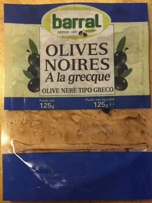Olives noires a la grecque - Product - fr