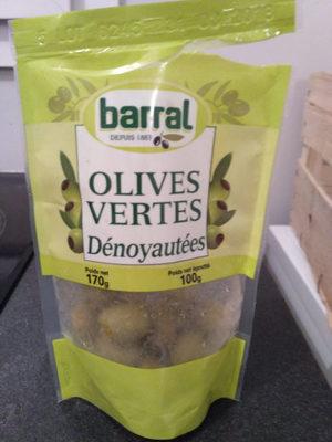 Olives Vertes Dénoyautées 170g Net - Product - en