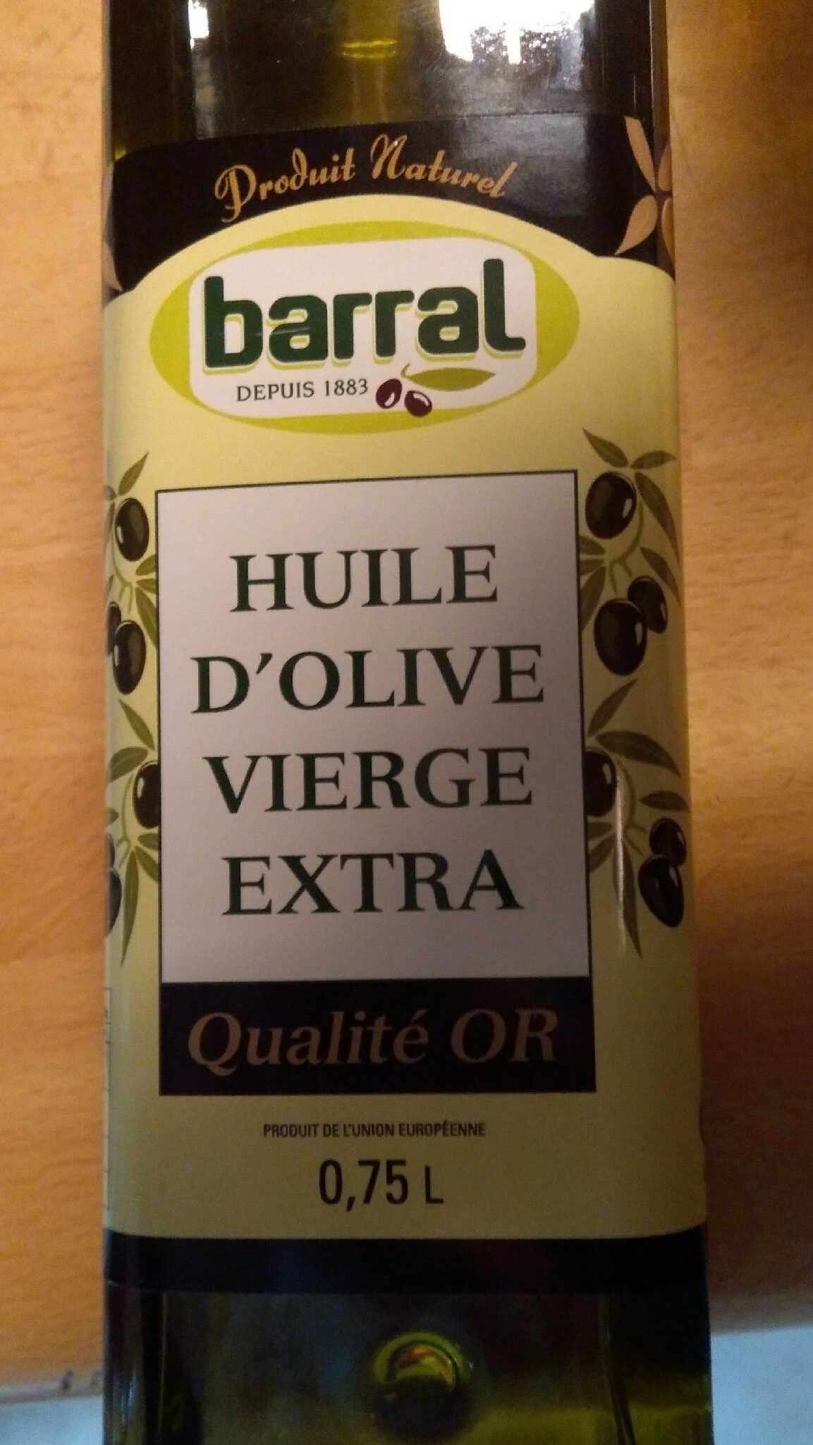 Huile d'olive vierge extra - Product - fr