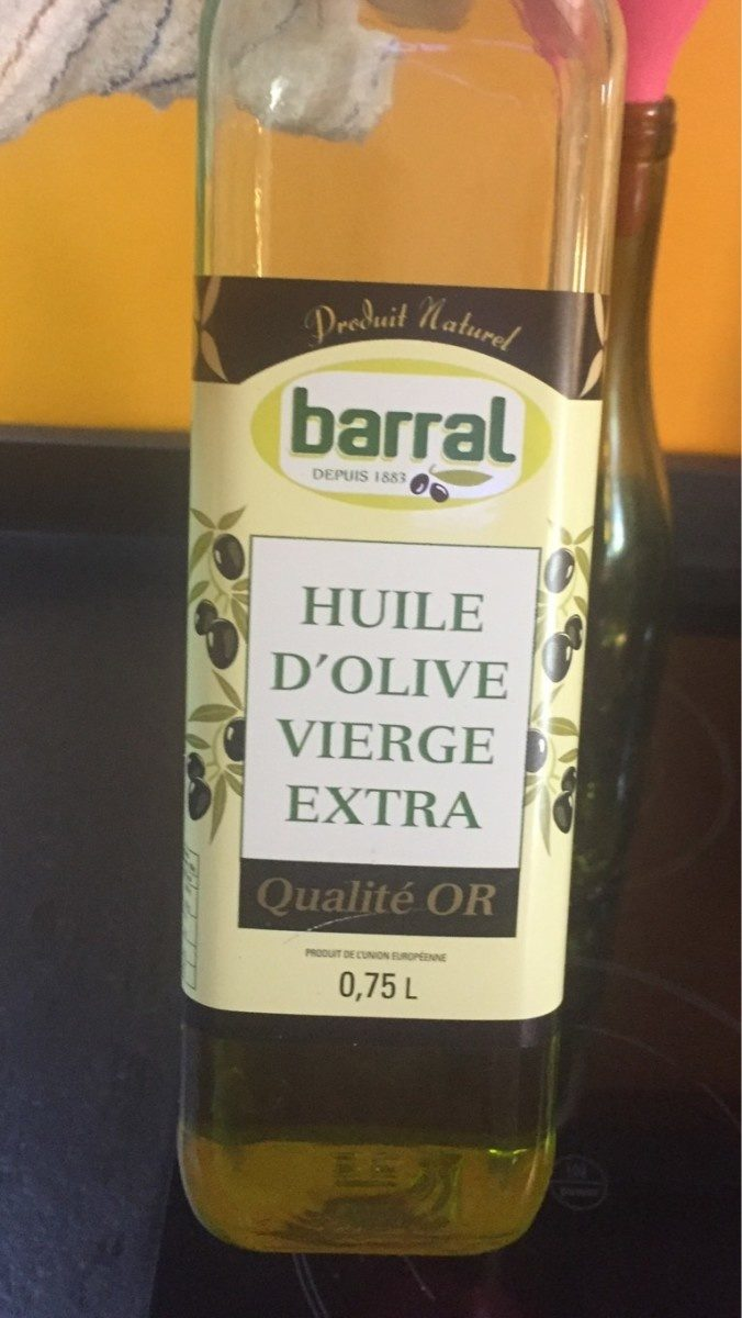 Huile olive vierge extra - Product - fr