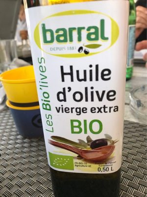 Huile d olive vierge extra bio - Product - fr