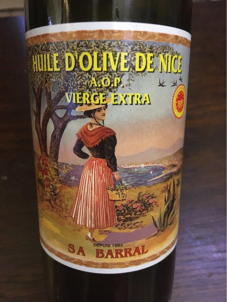 Huile d'olive de Nice AOP - Product - fr