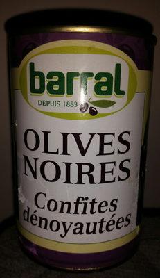 Olives Noires Dénoyautées, 1 / 2 - Product - fr