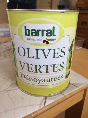 Olives vertes denoyautees - Product - fr
