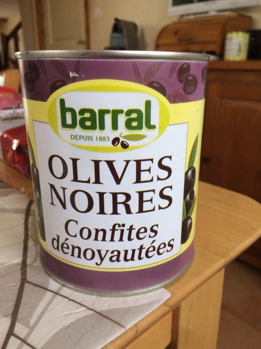Olives Noires Dénoyautées Barral 800 Gr, 1 Boîte - Product - fr