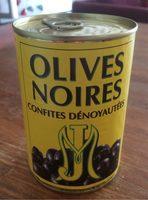 Olives noires confites - Product