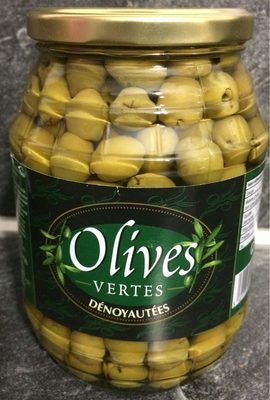 Olives vertes dénoyautés - Product