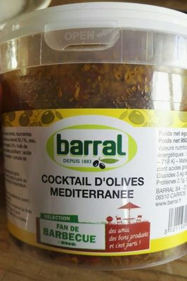 Cocktail d'olives méditerranée - Product
