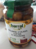 Mélange d'olives moins et poivrons - Product - fr