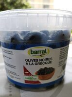 Olives noires à la grecque - Product - fr