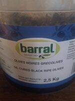 Olives noires Grec - Product - fr