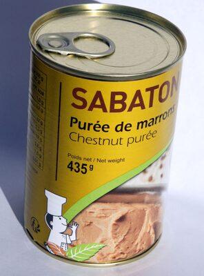 Purée de marrons - Product