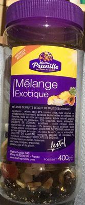 Mélange exotique - Produit