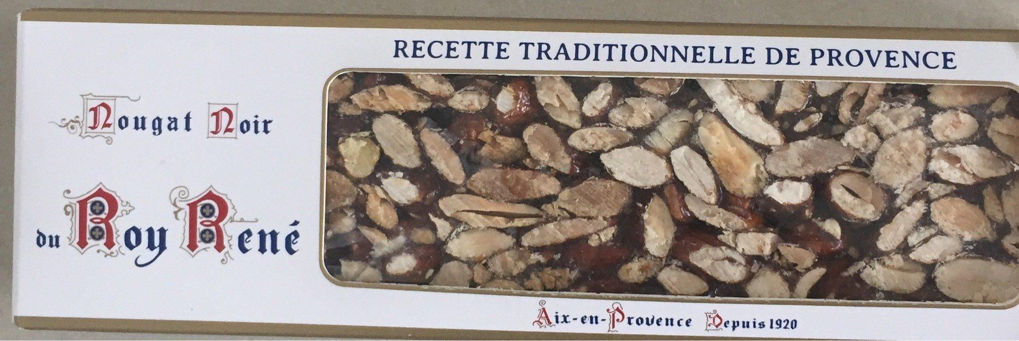 Nougat noir du roy rené - Produit - fr