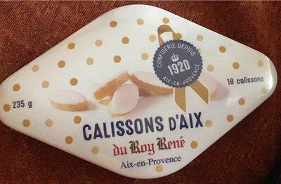 Calissons d'Aix x18 - Produit - fr