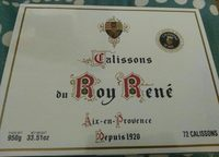Calissons du Roy René - Produit - fr